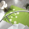 Thrown Away Green Floral Rug