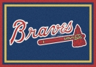 Atlanta Braves Area Rugs