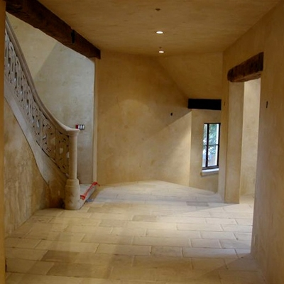 Medium and fine grain Limestone Flooring